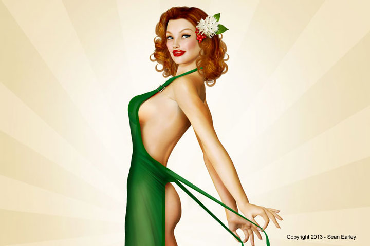 Double Tall Extra Hot – A Starbucks Tribute Pinup