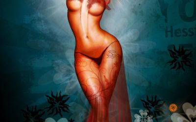 Venus in Red