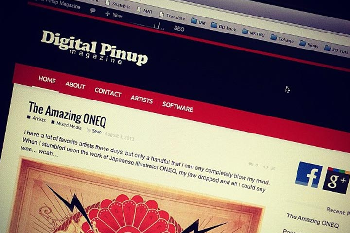 Just Launched – Digital Pinup Magazine!