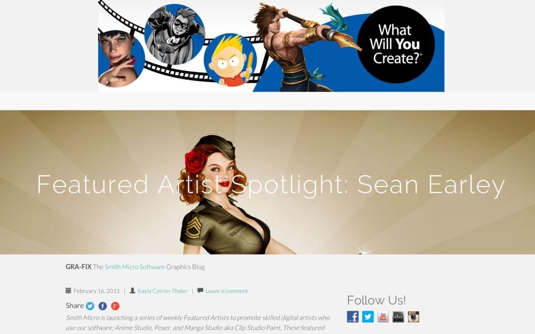 Smith Micro Blog Featured Artist Spotlight & Blog Post