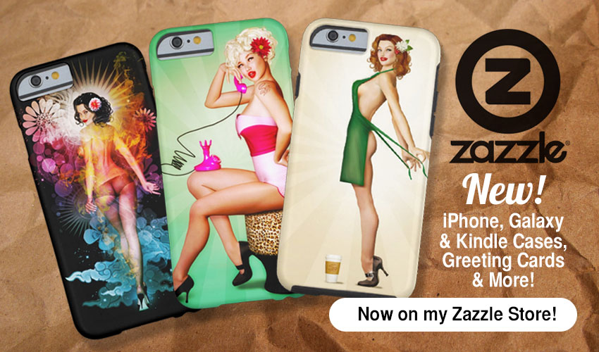 New Pin-Up iPhone 6 Cases & More!