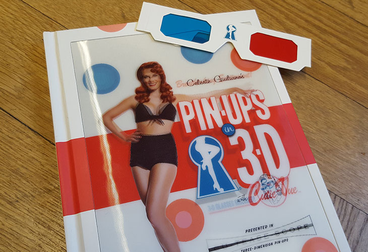 Book Review – Pin-Ups in 3D by Celeste Giuliano